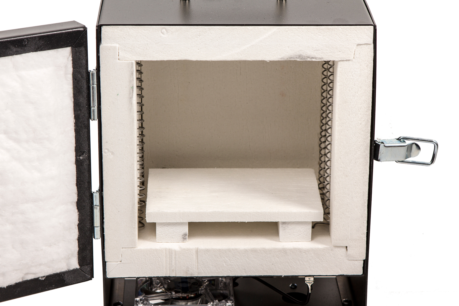 Rapidfire Pro Lp Electric Kiln Relay Quikmelt Front Loading Tabletop Furnace Company